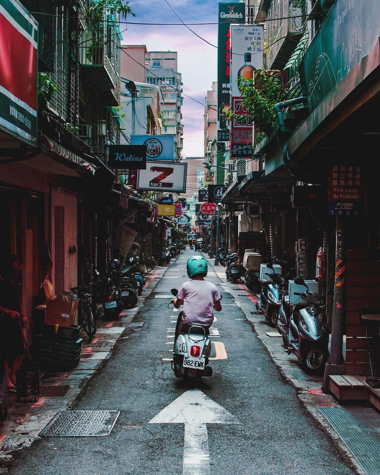 orașul Taiwan